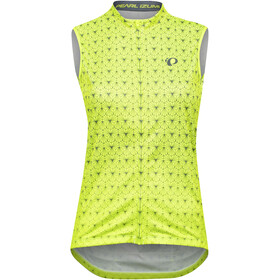 PEARL iZUMi Select Escape Graphic SL Jersey Women, screaming yellow/turbulence deco